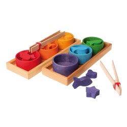 Grimm's - Authentic Rainbow Bowls Sorting Game *Backorder until End of June 2020*