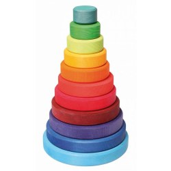 Grimm's - Authentic Rainbow Stacking Tower