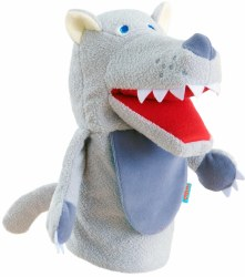 Haba - Glove Puppet - Eat-It-Up Wolf