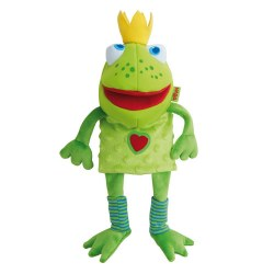 Haba - Glove Puppet - Frog King