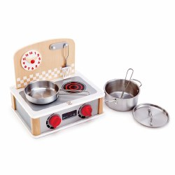 Hape - 2-in-1 Kitchen & Grill Set
