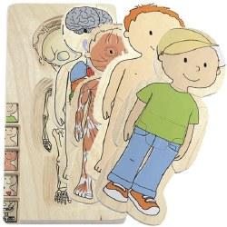 Hape - Body Puzzle Boy