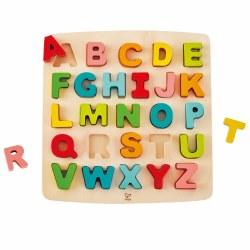 Hape - Chunky Puzzle Uppercase Alphabet