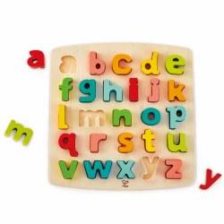 Hape - Chunky Puzzle Lowercase Alphabet