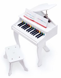Hape - Deluxe Grand Piano White