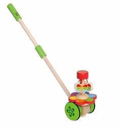 Hape - Pull & Push Toy - Butterflies