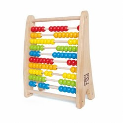 Hape - Rainbow Bead Abacus