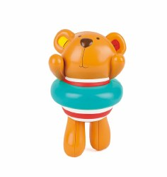 Hape - Swimmer Teddy Shower Wind-Up Buddy