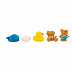 Hape - Teddy & Friends Bath Squirt