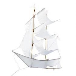Nini & Loli Find - Sailing Ship Kite White