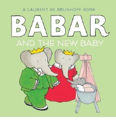 Abrams Appleseed - Book - Babar and the New Baby