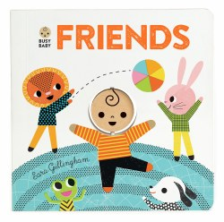 Chronicle Books - Busy Baby Book - Friends