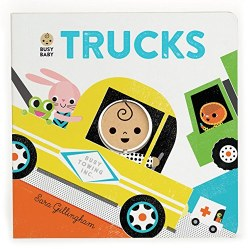 Chronicle Books - Busy Baby Book - Trucks
