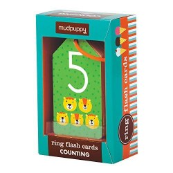 Mudpuppy - Ring Flashcards - Counting