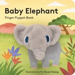 Chronicle Books - Finger Puppet Book - Baby Elephant