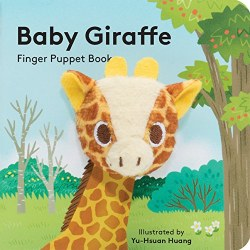 Chronicle Books - Finger Puppet Book - Baby Giraffe