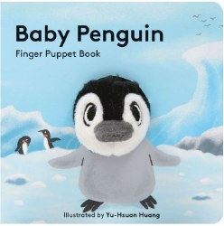 Chronicle Books - Finger Puppet Book - Baby Penguin