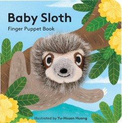 Chronicle Books - Finger Puppet Book - Baby Sloth