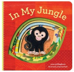 Chronicle Books - Finger Puppet Book - In My Jungle