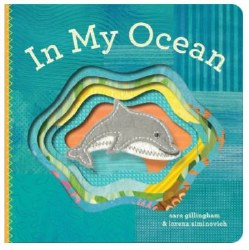 Chronicle Books - Finger Puppet Book - In My Ocean