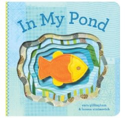 Chronicle Books - Finger Puppet Book - In My Pond