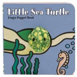 Chronicle Books - Finger Puppet Book - Little Sea Turtle