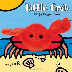 Chronicle Books - Finger Puppet Book - Little Crab