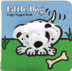 Chronicle Books - Finger Puppet Book - Little Dog