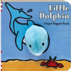 Chronicle Books - Finger Puppet Book - Little Dolphin