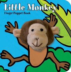 Chronicle Books - Finger Puppet Book - Little Monkey