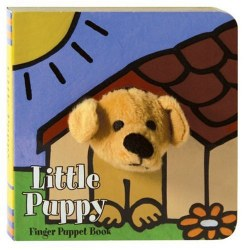 Chronicle Books - Finger Puppet Book - Little Puppy