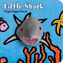Chronicle Books - Finger Puppet Book - Little Shark