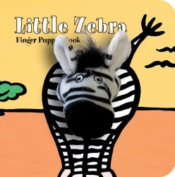 Chronicle Books - Finger Puppet Book - Little Zebra