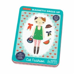 Mudpuppy - Magnetic Dress-Up - Cat Fashion