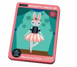 Mudpuppy - Magnetic Dress-Up - Woodland Ballet
