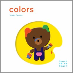 Chronicle Books - TouchThinkLearn Book - Colors