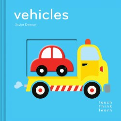 Chronicle Books - TouchThinkLearn Book - Vehicles