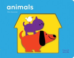 Chronicle Books - TouchWords Book - Animals