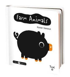 Chronicle Books - Baby Basic Book - Farm Animals