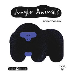 Chronicle Books - Baby Basics Book - Jungle Animals
