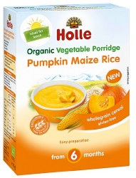 Holle - Baby Organic Cereal - Pumpkin, Maize, And Rice