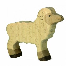 Holztiger - Wooden Animal - Lamb