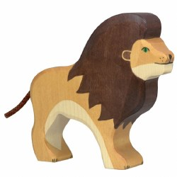 Holztiger - Wooden Animal - Lion