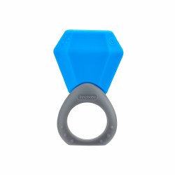 Inno Baby - Teethin' Smart Birthstone Ring Teether - December (Blue Topaz)