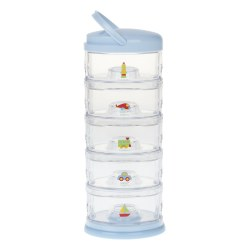 Inno Baby - Stackable Container 5 Tiers Blue Heaven Transportation