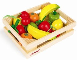 Janod - 12 Fruits Crate