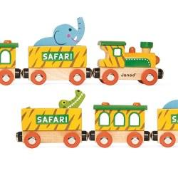 Janod -  Story Train Safari
