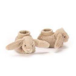 Jellycat - Bashful Booties - Bunny Beige