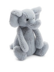 Jellycat - Bashful Medium - Elephant Grey