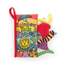 Jellycat - SoftTails Book Rainbow